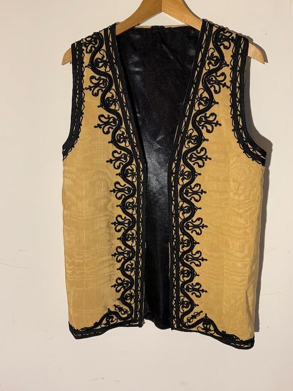 Afghan vintage Embroidered waistcoat
