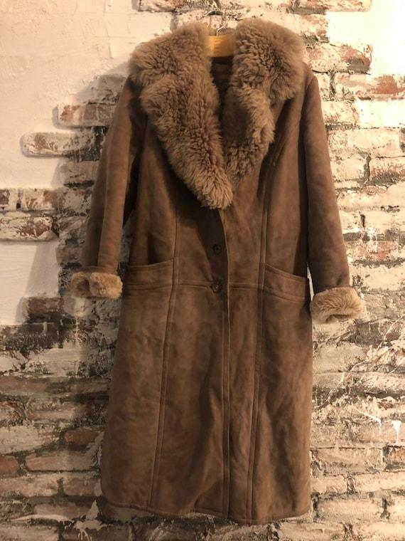 Afghan lammy coat