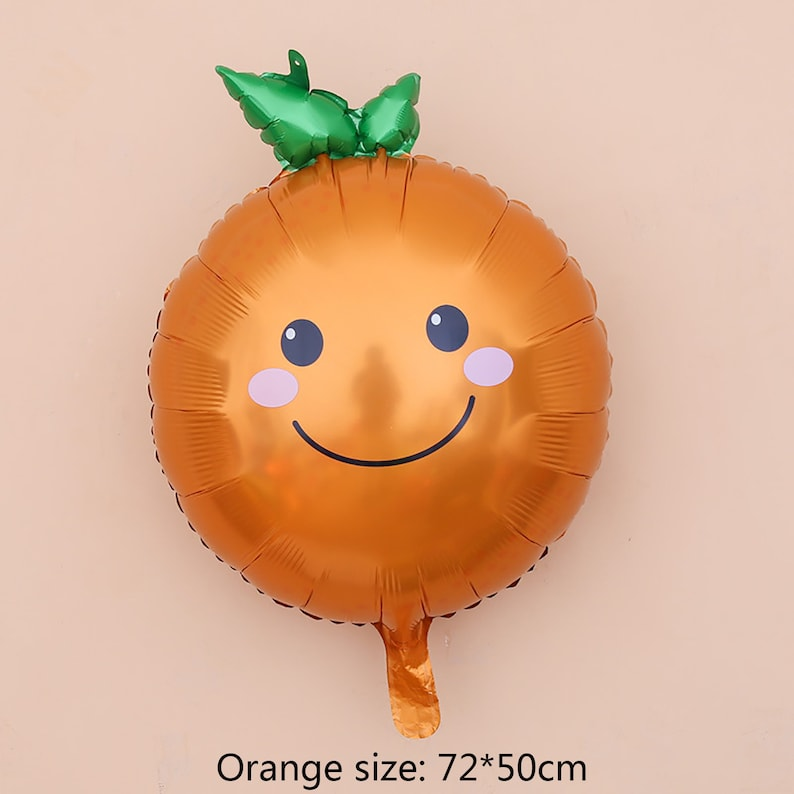 Banana Strawberry Balloon Children/'s Party Decoration,Party Supplies Birthday Party Decoration Cute Vegetable Fruit Aluminum Balloons