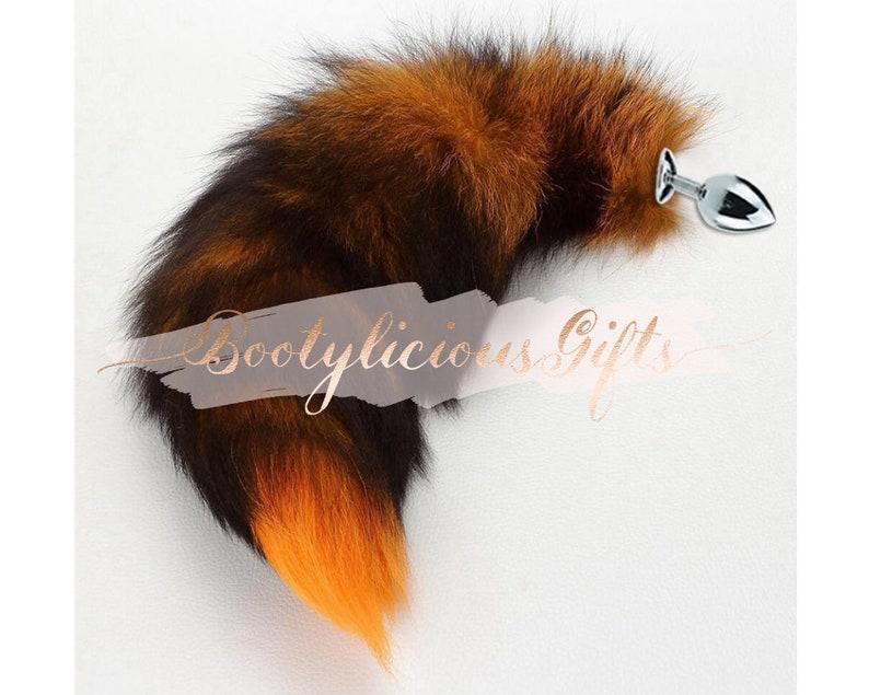 56baeb5ea Fox tail plug adult sex toys for bdsm Butt plug pet play