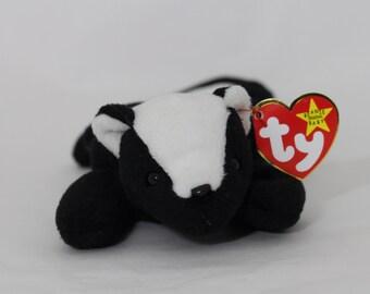 TY Beanie Baby -Stinky- P.V.C. Pellets-