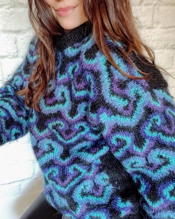 Vintage Mohair Blend Sweater