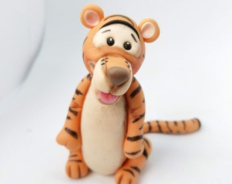 Tigger Cake Topper Handmade Edible Birthday Cartoons Personalized Decoration Party Theme Any Occasion UNOFFICIAL