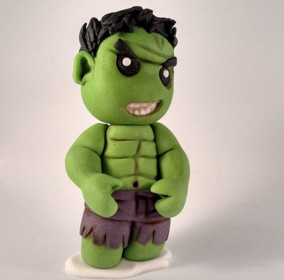 Fine Hulk Cake Topper Handmade Edible Personalised Birthday Cake Etsy Funny Birthday Cards Online Alyptdamsfinfo