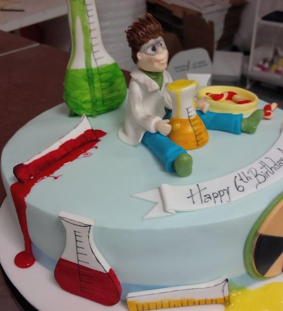 Handmade Personalised Cake Topper Boys Cake Decoration Birthday