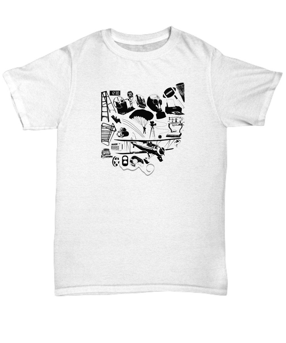 Dayton Ohio Inventions Unisex Crew Neck T Shirt Multiple Etsy