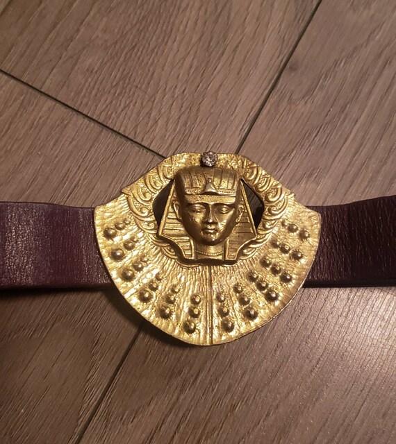 80s Egyptian buckle belt