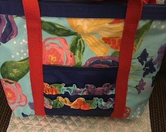 Pioneer Celia print purse- tote