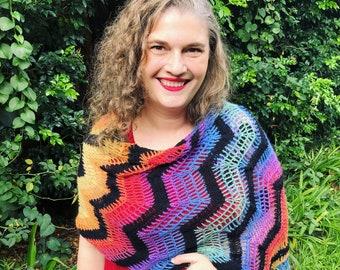 Vivacious Wrap Crochet Pattern