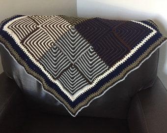 Zazu Baby Blanket Crochet Pattern - INSTANT DOWNLOAD