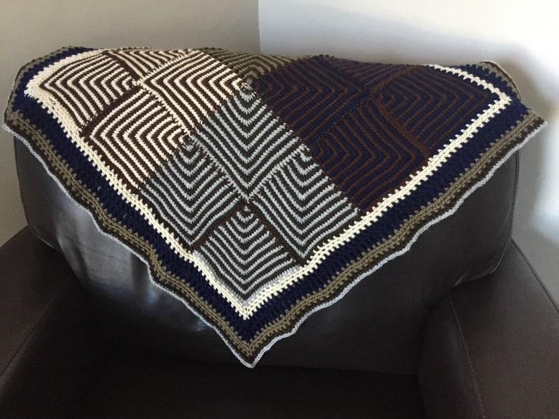 Zazu Baby Blanket Crochet Pattern  INSTANT DOWNLOAD image 0