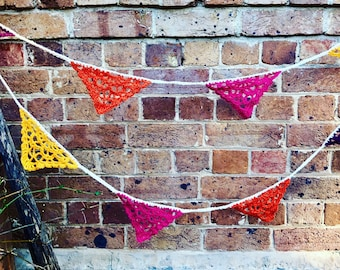 Fancy Pants Bunting Crochet Pattern - INSTANT DOWNLOAD