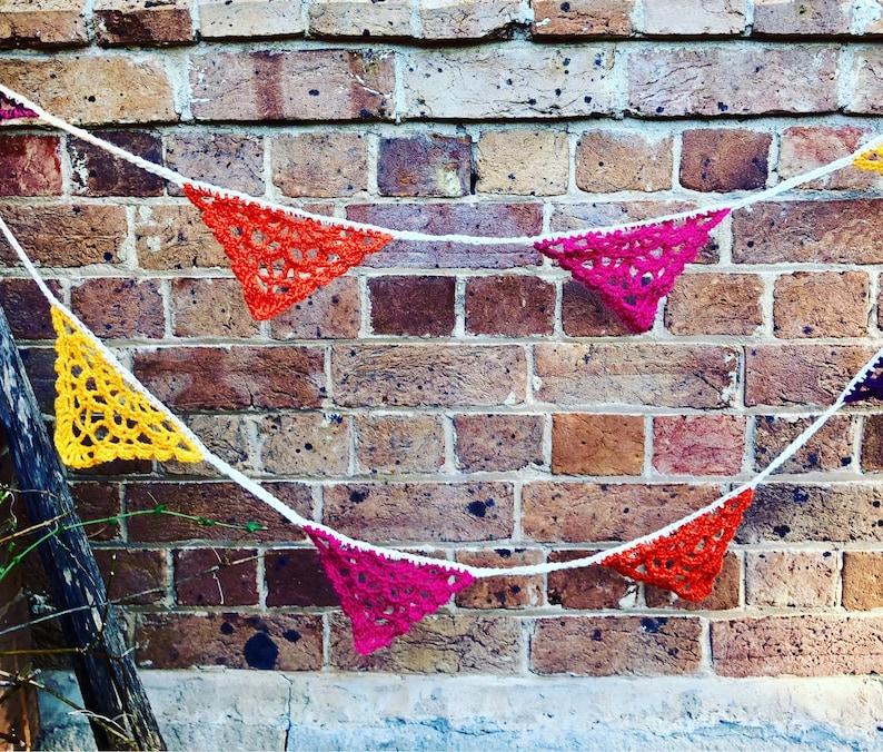 Fancy Pants Bunting Crochet Pattern  INSTANT DOWNLOAD image 0
