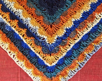 Essaouira Sunset Wrap Crochet Pattern
