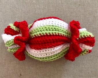 GIFT Wrapper Cracker Crochet Pattern - INSTANT DOWNLOAD