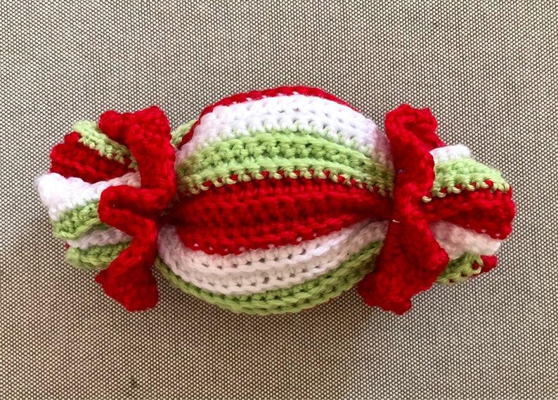 GIFT Wrapper Cracker Crochet Pattern  INSTANT DOWNLOAD image 0