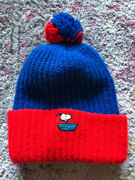 Vintage Snoopy Winter Cap