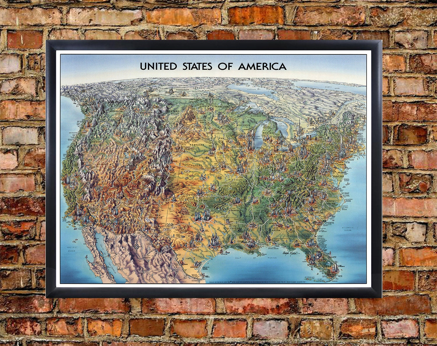 US Map Art Print - United States Map Poster, Large Map of USA Art Print Geographical Map Of The United States on geographical map of papua new guinea, geographical map of western us, geographic location of united states, exact center of the united states, map of england and united states, map of northern canada and united states, terrain united states, road map of northwestern united states, organized incorporated territories of the united states, subtropical area of the united states, geographical map of texas, the region of northeast united states, northern border of the united states, map of caribbean islands and united states, member nations of the united states, physical geography map united states, geographical map of malaysia, map of eastern united states, geographical map of burma, ancient maps of the united states,