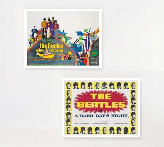 Vintage Beatles Magical Mystery Tour Movie  Poster Print A3//A4