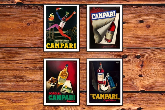 Vintage Art Deco Cocktail Drinks Poster A4 sizes A1 A2 A3