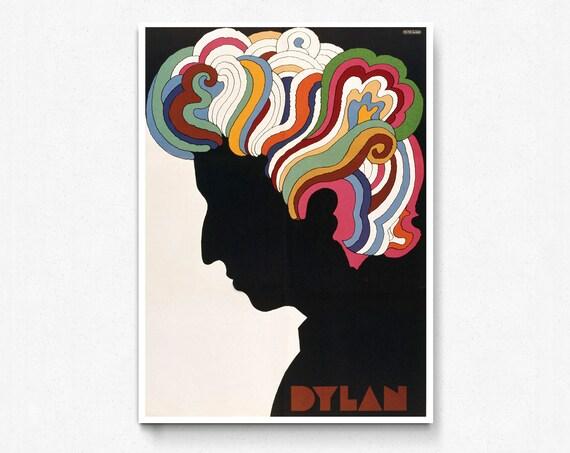 A0 A1 A2 A3 A4 Jimi Hendrix Trippy Large Poster Art Print