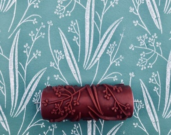 C14-Patterned paint roller, Wall decoration, house painting, pattern, paint roller, 15cm,patterned paint roller designs