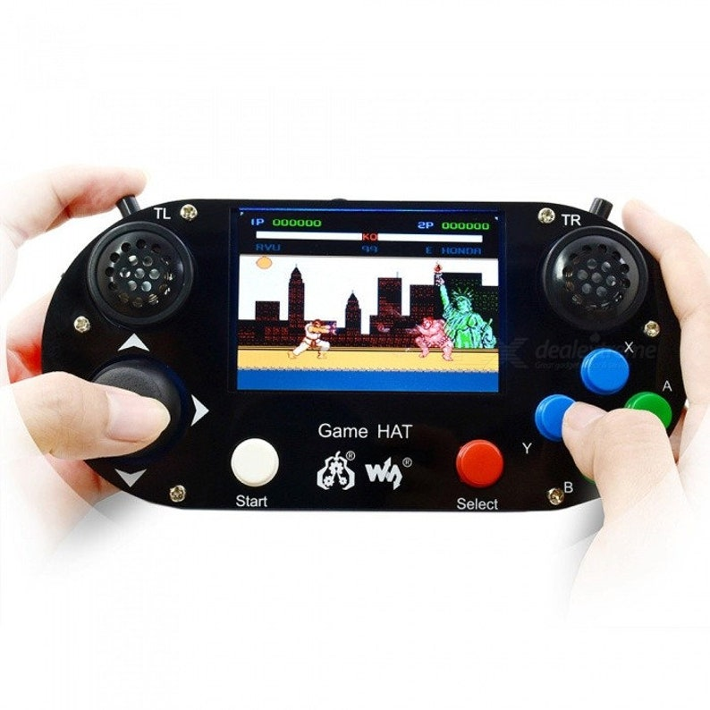 Waveshare Retropie Handheld Portable 128gb Raspberry pi 3b+