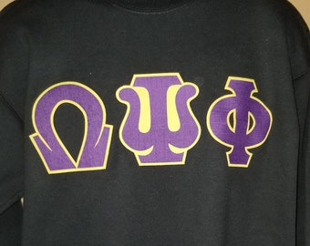 Omega Psi Phi 8 Vs 80 T Shirt Etsy