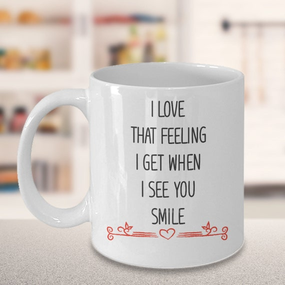 Love Quotes Gift Idea For Relationships Coffee Mug With Love Etsy