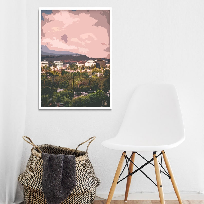 Tremendous Hollywood Sign Print Poster Bedroom Printable Wall Art California Instant Download Photography Urban Actor Moving Away Gift For Niece Download Free Architecture Designs Licukmadebymaigaardcom