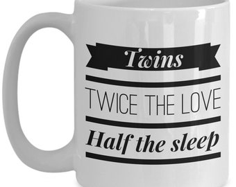 Twins Twice the Love Coffee Mug