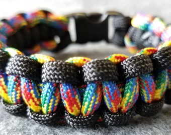 Autism Awareness Bracelet, Paracord Bracelet