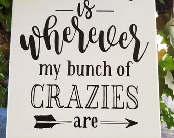 Canvas wall art, wall art quotes, wall art canvas, canvas picture, family art, family saying, home decor, wall art
