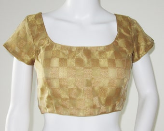 Gold Sari Blouse