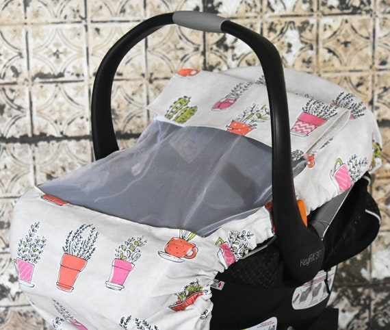 Pleasant Cactus Duck Cloth Sun And Bug Cover For Baby Baby Cover Baby Wearing Baby Shower Gift Baby Wearing Cover Baby Car Seat Cover Ocoug Best Dining Table And Chair Ideas Images Ocougorg
