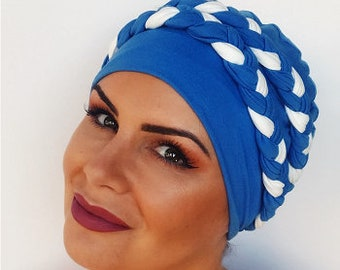 Double Braid Hat BambooHat For Hair Loss|Womens chemo hat | chemo headwear | turbans for cancer patients | chemo headwear | cancer hat