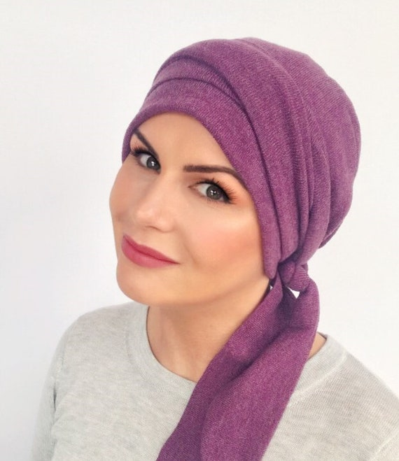 eec75220133 Luxury Padded Headscarf for hair loss Hat For Hair