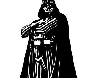 Vinyl Darth Vader Decal