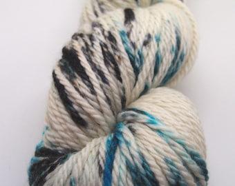 Hand Dyed Aran Weight Sustainable New Merino Wool
