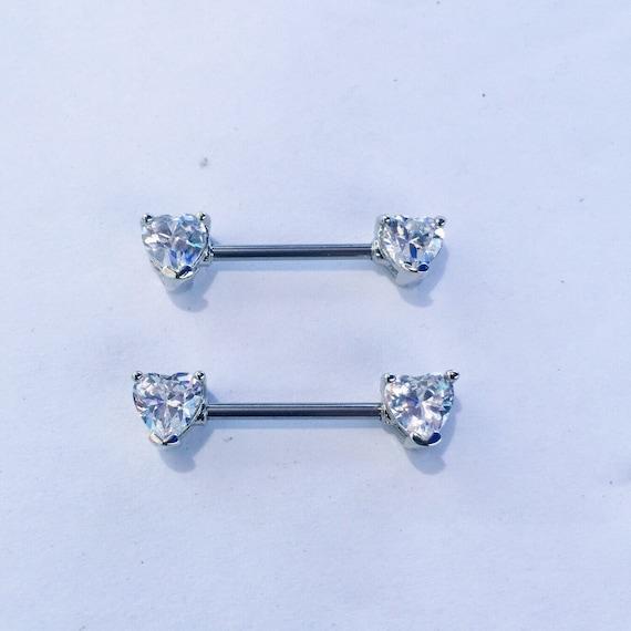 Nipple Shield,Nipple Ring,Nipple Piercing Nipple Barbell Ring,14g