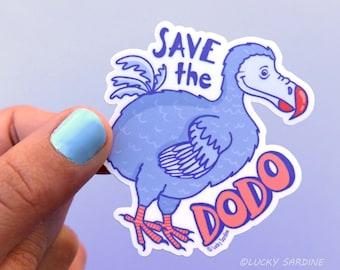a8a33d2c5b Dodo Vinyl Sticker