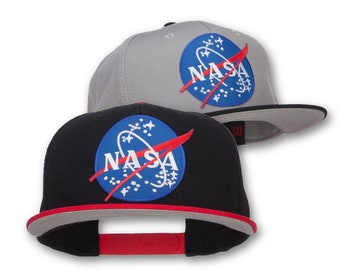 Lunar NASA Patched Two Tone Snapback ad44a28a21a0