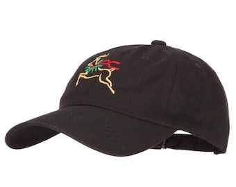 00c520e51e8f7 Reindeer Outline Embroidered Unstructured Cap