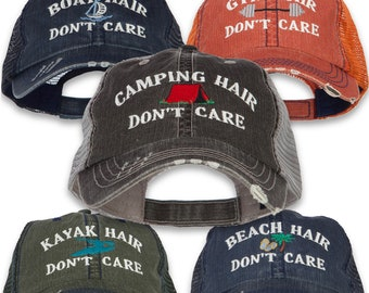 2c6649f2c45 Camping Hair Don t Care