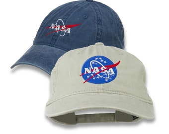 NASA Insignia Logo Embroidered Pigment Dyed Cap 4a1ead7c31cb