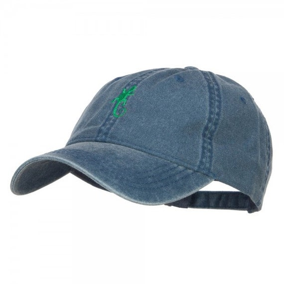 Lizard Embroidered Soft Low Profile Hat