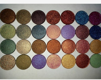 CHOOSE YOUR COLOR shimmer / glitter single eyeshadows