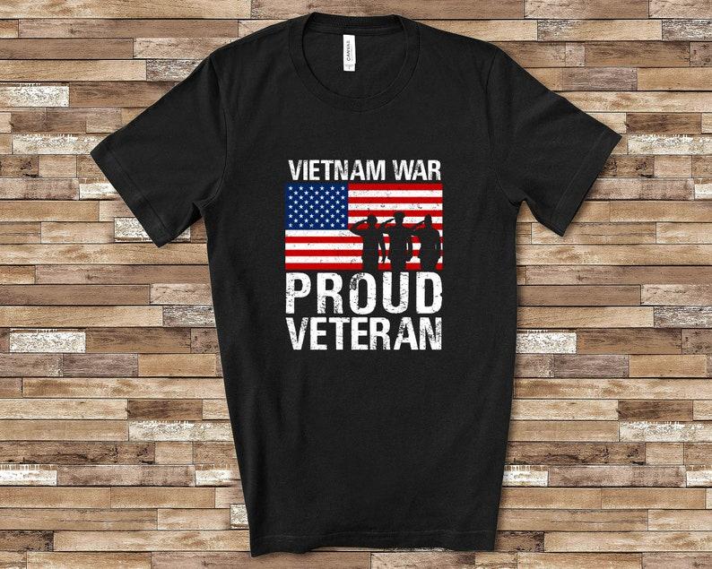 Proud Vietnam War Veteran Shirt Masswerks Store