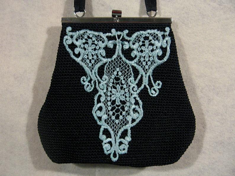 Art nouveau purse art deco purse art to wear lace purse etsy