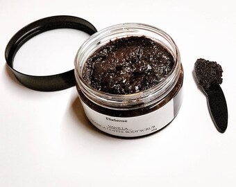 Vanilla/Arabica Coffee/Coconut oil /Sugar scrub/Body scrub/Natural